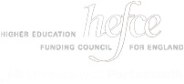 Hefce and University of Portsmouth logo